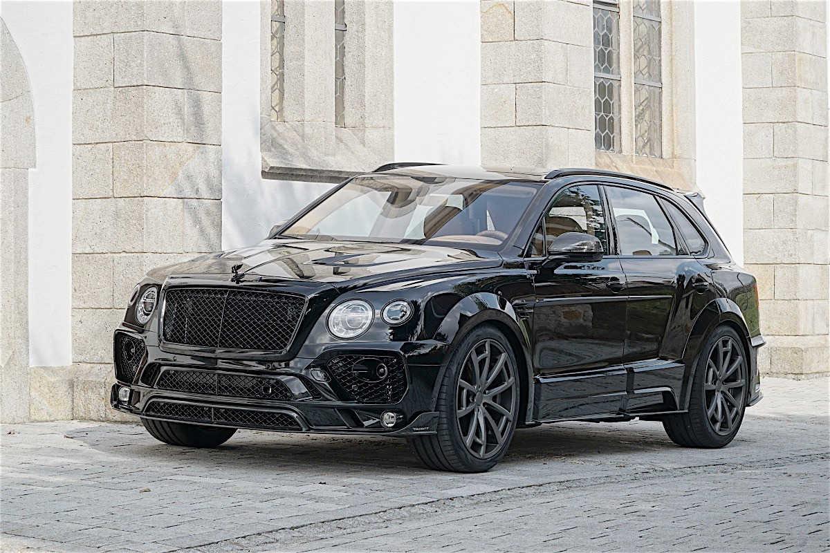 Mansory tung gói độ mới cho SUV Bentley Bentayga - 2