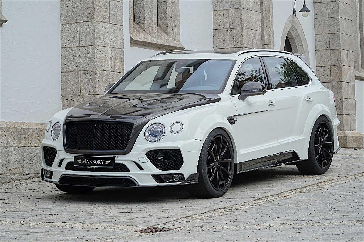 Mansory tung gói độ mới cho SUV Bentley Bentayga - 1