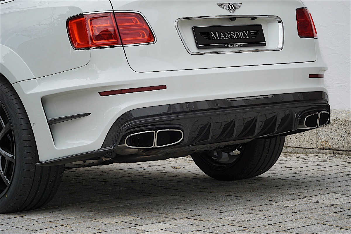 Mansory tung gói độ mới cho SUV Bentley Bentayga - 4