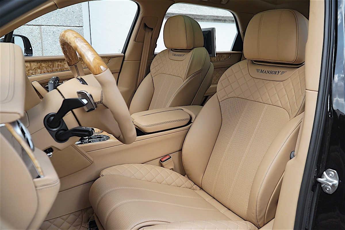 Mansory tung gói độ mới cho SUV Bentley Bentayga - 6