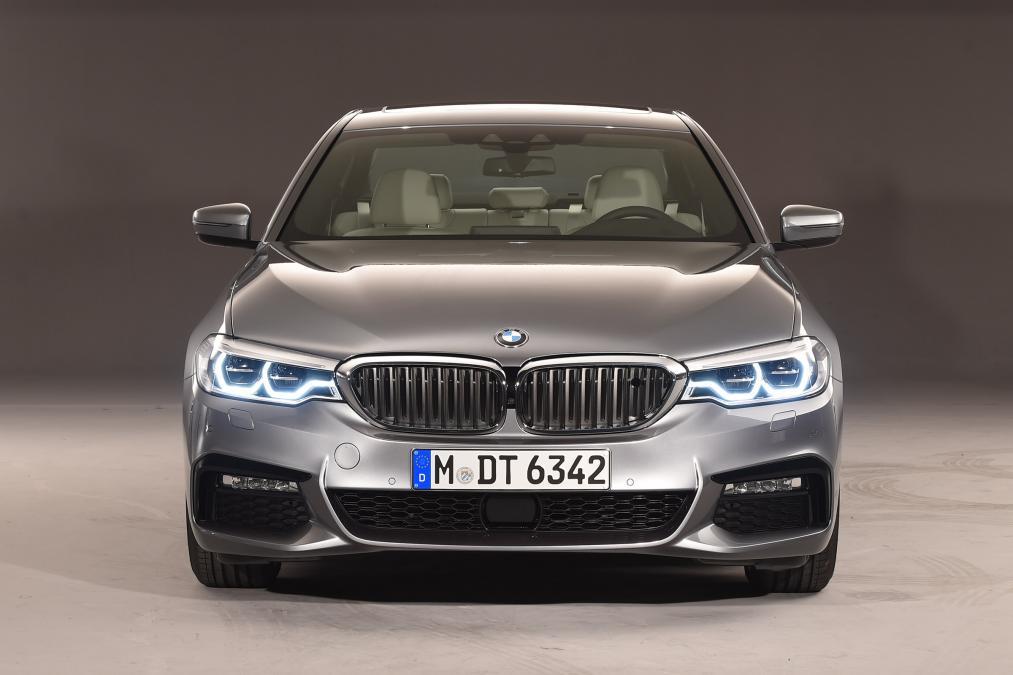 Sedan hạng sang BMW G30 5 Series lộ diện - 1