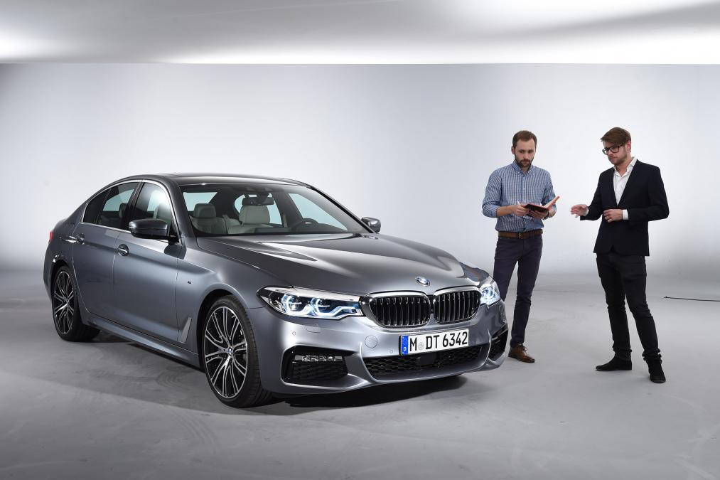 Sedan hạng sang BMW G30 5 Series lộ diện - 4