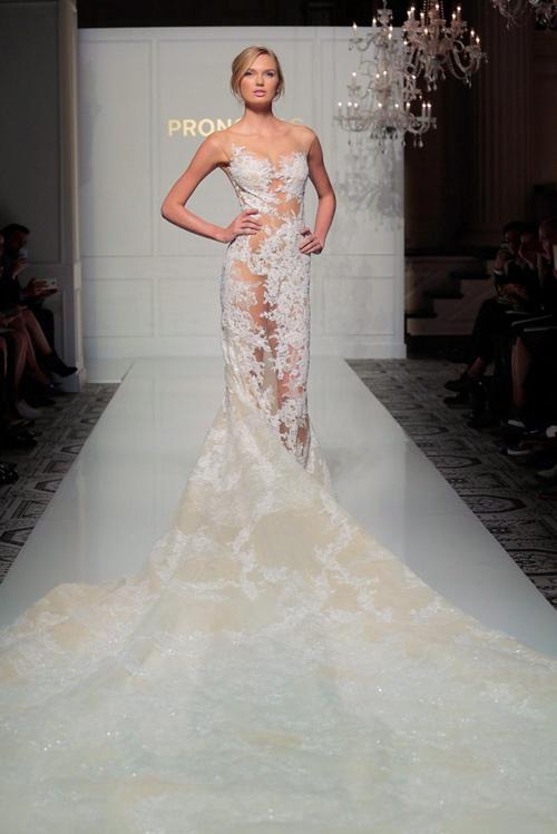 """Nín thở trước cô dâu mặc váy cưới """"mỏng như không"""" - 11"""