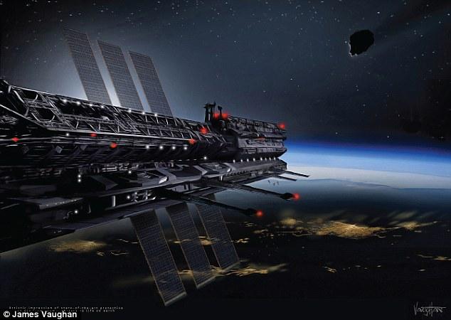 """Sắp lập """"quốc gia trên trời"""" để ngăn Trái đất diệt vong - 1"""