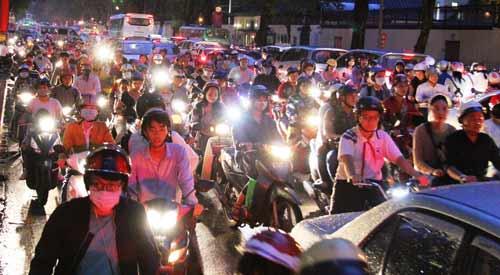 """Cổ thụ bật gốc, giao thông trung tâm Sài Gòn """"tê liệt"""" - 2"""