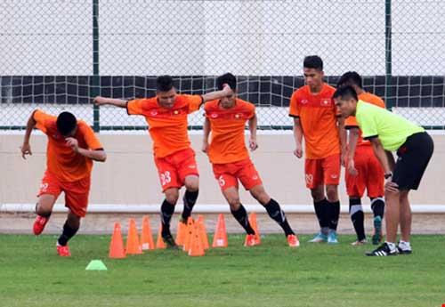 Đòn tâm lý của ban huấn luyện U-19 Việt Nam - 2