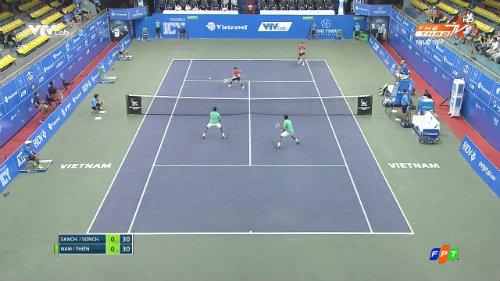 Hoàng Nam, Hoàng Thiên dừng bước ở vòng 2 Vietnam Open - 2