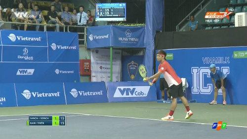Hoàng Nam, Hoàng Thiên dừng bước ở vòng 2 Vietnam Open - 1