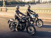 Thế giới xe - Triumph Bonneville T100 và T100 Black mới trình làng
