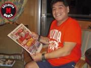 """Bóng đá - Maradona: """"Messi chỉ ngang tầm Ronaldo"""""""