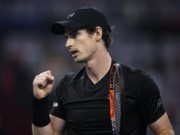 """Thể thao - Murray - Pouille: """"Bắt nạt"""" đàn em (V3 Shanghai Masters)"""