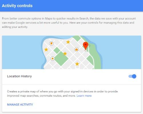 Cách xem lại lịch sử vị trí trên Google Map - 1