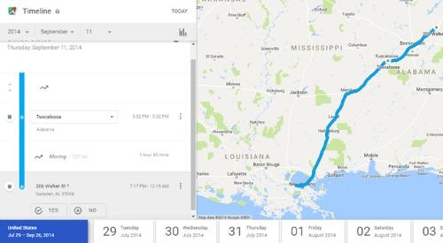 Cách xem lại lịch sử vị trí trên Google Map - 10