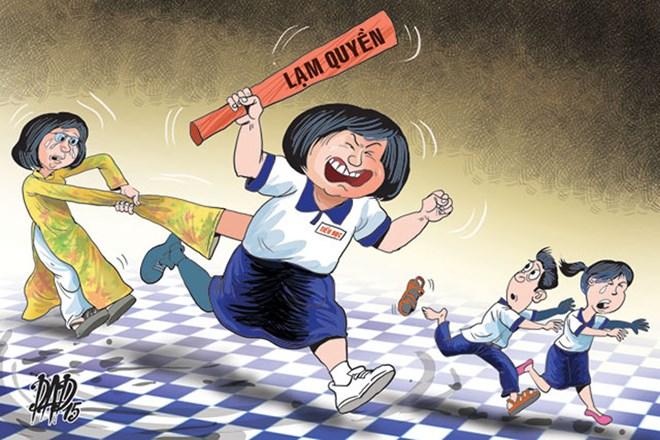 Lớp trưởng, sao đỏ được trao quá nhiều quyền: Tiếp tay cho bạo lực học đường? - 2