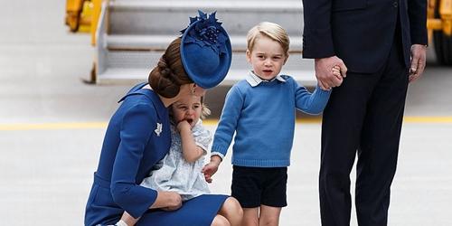 Vì sao Hoàng tử nhí George luôn mặc quần soóc - 1