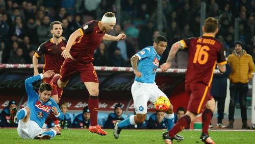 Serie A trước vòng 8: Napoli-Roma đấu nhau & hành động của Juve - 1