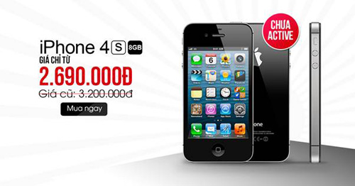 Đổ xô mua iPhone 4S 8Gb, BlackBerry PassPort giá rẻ - 4