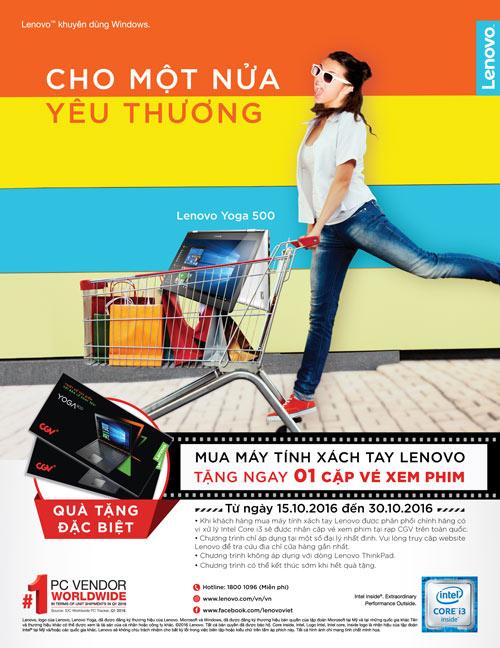 Mua laptop Lenovo, xem cinema thỏa thích - 1