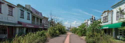 Hình ảnh rợn người bên trong công viên bỏ hoang ở Nhật Bản - 11