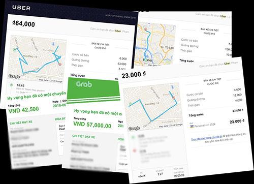 """Grab """"tố"""" Uber lách luật tại Việt Nam - 2"""