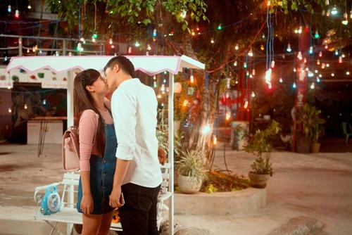 Midu khiến Harry Lu ám ảnh sau 30 lần hôn trong phim mới - 2