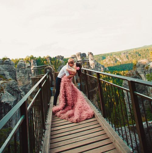 Ảnh cưới tuyệt đẹp của cặp đôi Việt kiều Đức chụp ở Berlin - 2