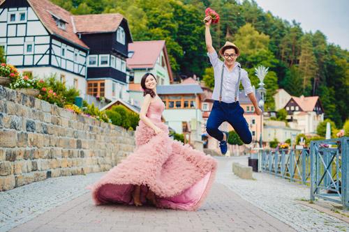 Ảnh cưới tuyệt đẹp của cặp đôi Việt kiều Đức chụp ở Berlin - 1