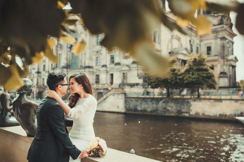 Ảnh cưới tuyệt đẹp của cặp đôi Việt kiều Đức chụp ở Berlin - 4