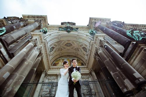Ảnh cưới tuyệt đẹp của cặp đôi Việt kiều Đức chụp ở Berlin - 5