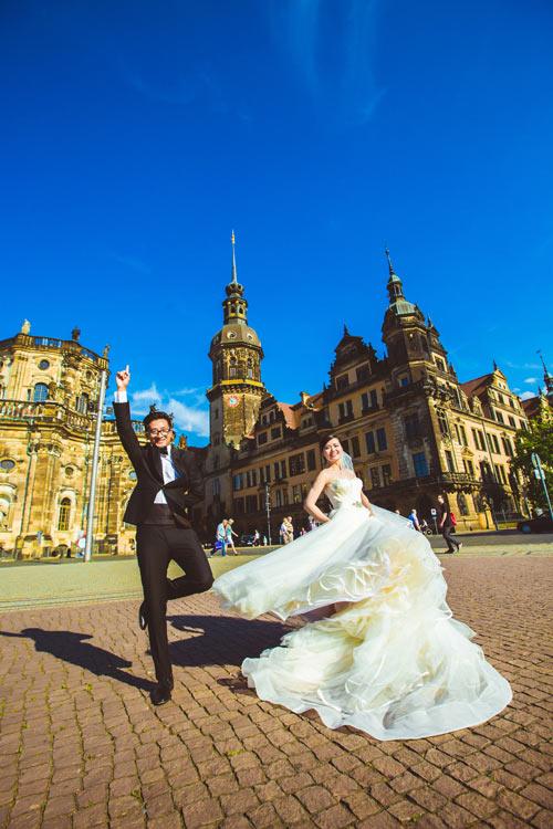 Ảnh cưới tuyệt đẹp của cặp đôi Việt kiều Đức chụp ở Berlin - 6