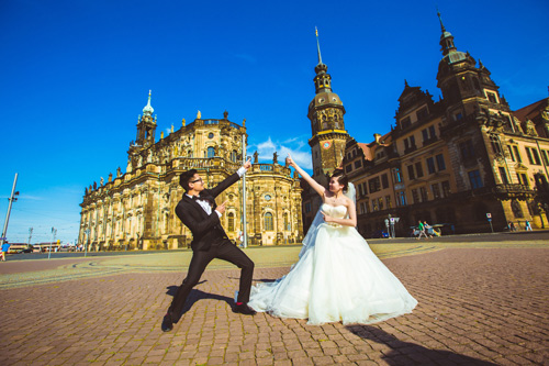 Ảnh cưới tuyệt đẹp của cặp đôi Việt kiều Đức chụp ở Berlin - 8