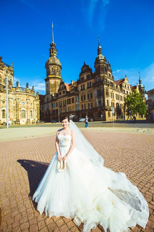 Ảnh cưới tuyệt đẹp của cặp đôi Việt kiều Đức chụp ở Berlin - 7