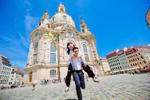 Ảnh cưới tuyệt đẹp của cặp đôi Việt kiều Đức chụp ở Berlin - 12