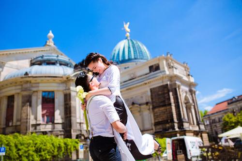 Ảnh cưới tuyệt đẹp của cặp đôi Việt kiều Đức chụp ở Berlin - 13
