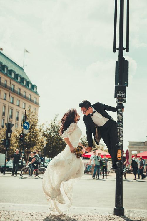 Ảnh cưới tuyệt đẹp của cặp đôi Việt kiều Đức chụp ở Berlin - 10