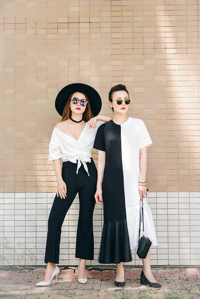 Phong cách chất ngất của cặp chị em Yến Trang- Yến Nhi - 9