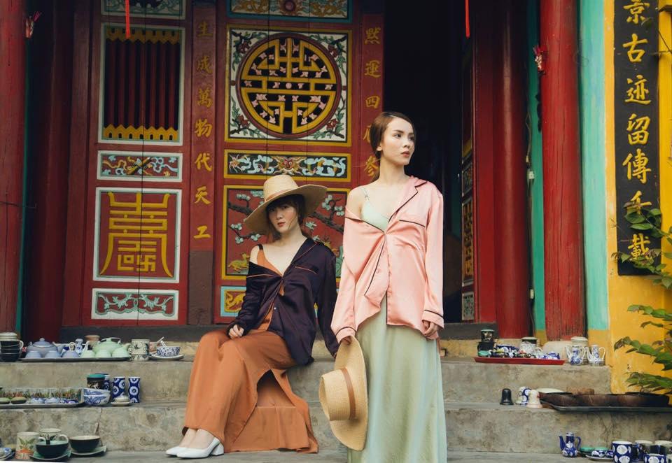 Phong cách chất ngất của cặp chị em Yến Trang- Yến Nhi - 10