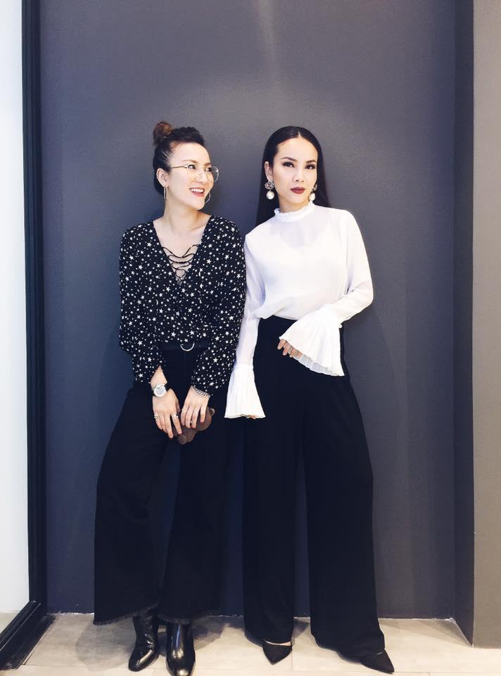 Phong cách chất ngất của cặp chị em Yến Trang- Yến Nhi - 11
