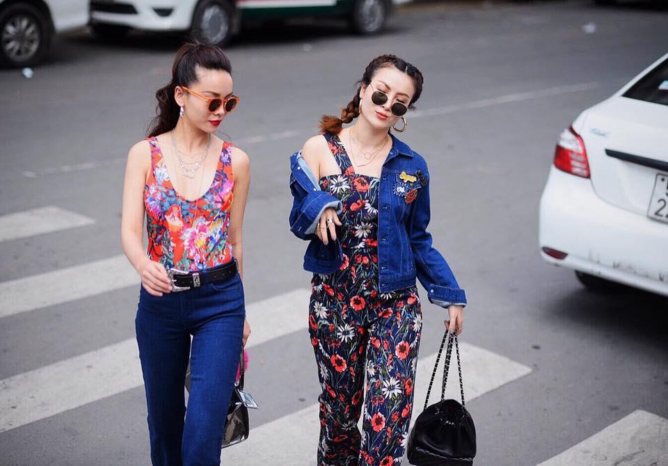 Phong cách chất ngất của cặp chị em Yến Trang- Yến Nhi - 12