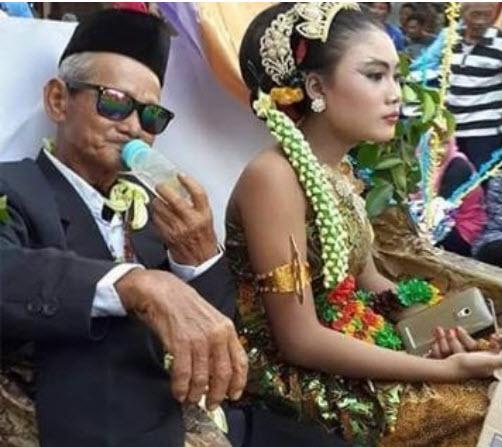 Cụ ông 66 tuổi cưới hot girl 18 tuổi gây xôn xao - 2