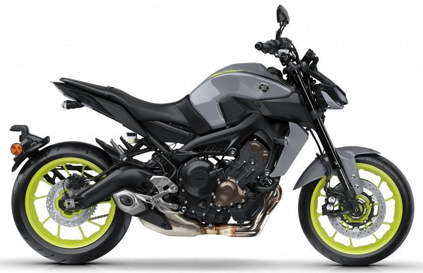 Ra mắt Yamaha MT-9 2017 nâng cấp - 2