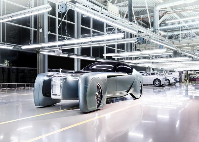 Rolls Royce 103EX Concept tự động hạng sang - Mẫu xe đến từ tương lai - 4