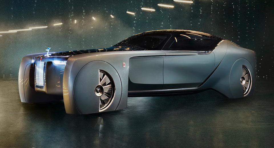 Rolls Royce 103EX Concept tự động hạng sang - Mẫu xe đến từ tương lai - 1