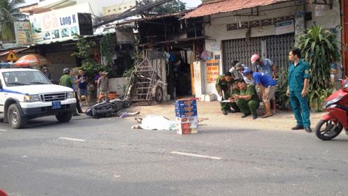 Truy tìm xe tải cán chết người rồi tháo chạy ở Sài Gòn