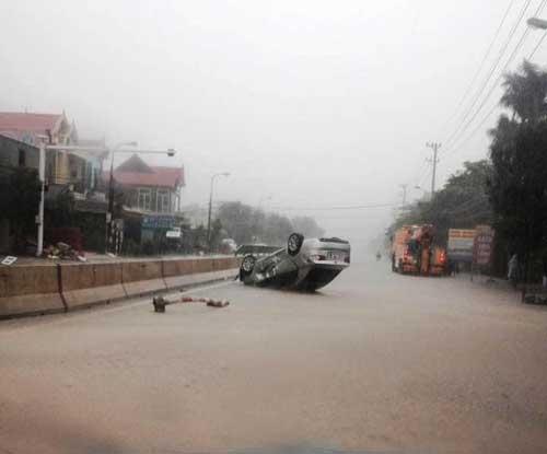 Quảng Bình – Quảng Trị: Ngập sâu trong mưa, 1 người mất tích - 5