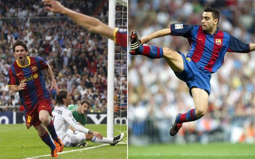Messi rê qua 5 sao Real xếp dưới cú lốp bóng của Xavi - 1