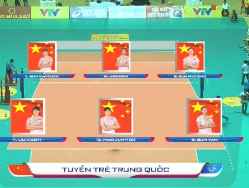 Chi tiết Việt Nam - U17 Trung Quốc: Áp lực đè nặng (Bóng chuyền VTV Cup) (KT) - 4