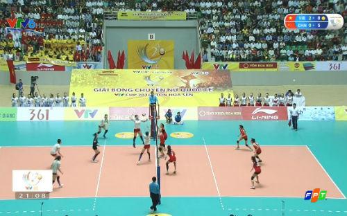 Việt Nam - U17 Trung Quốc: Áp đảo vào chung kết (bóng chuyền VTV Cup) - 1