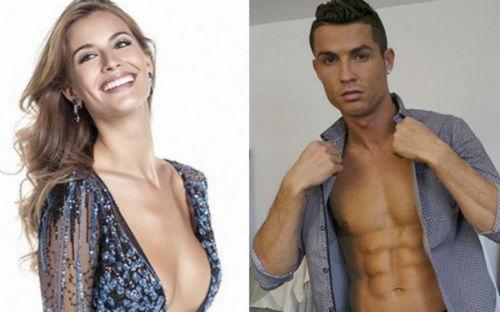 """Nghi án: Ronaldo """"giả vờ yêu"""" hoa hậu, vẫn nhớ Irina - 2"""