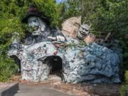 Du lịch - Hình ảnh rợn người bên trong công viên bỏ hoang ở Nhật Bản